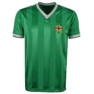 Northern Ireland 1984 Polyester Retro Football Shirt