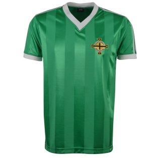Northern Ireland 1983 Polyester Retro Football Shirt