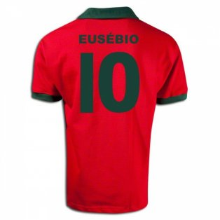 Portugal 1960s with Eusebio 10 Retro Football Shirt
