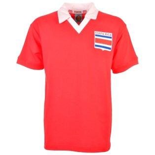 Costa Rica 1990 Retro Football Shirt