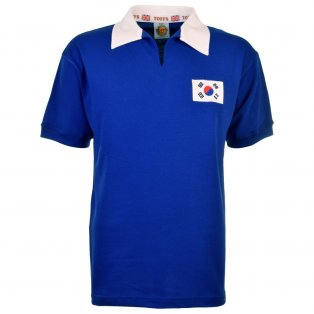 South Korea 1954 World Cup Retro Football Shirt