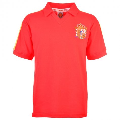 Spain 1982 World Cup Retro Football Shirt