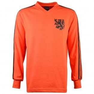Holland 1974 No. 14 Retro Football Shirt