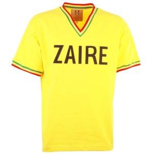 Zaire 1974 World Cup Yellow Retro Football Shirt
