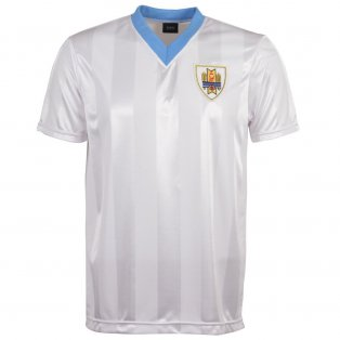 Uruguay 1986 World Cup Retro Football Shirt