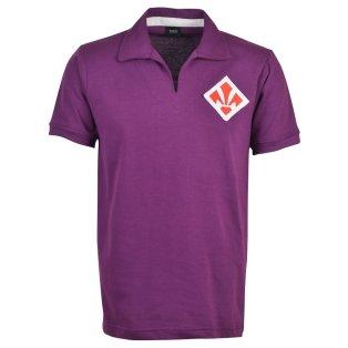 Fiorentina 1940s S/Sleeve Retro Football Shirt