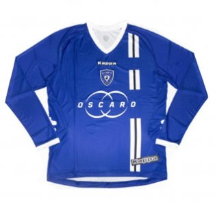 2012-2013 Bastia Home L/S Shirt (Blue)
