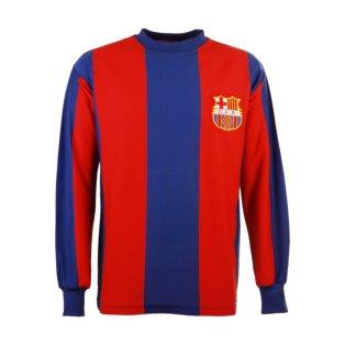 Barcelona 1960s Retro Football Shirt