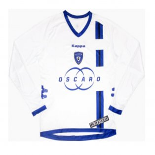 2012-2013 Bastia Away L/S Shirt (White)