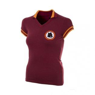 AS Roma 1978 - 79 Womens Retro Football Shirt