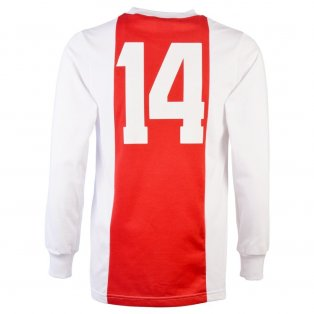 Ajax 1970-73 No. 14 Retro Football Shirt