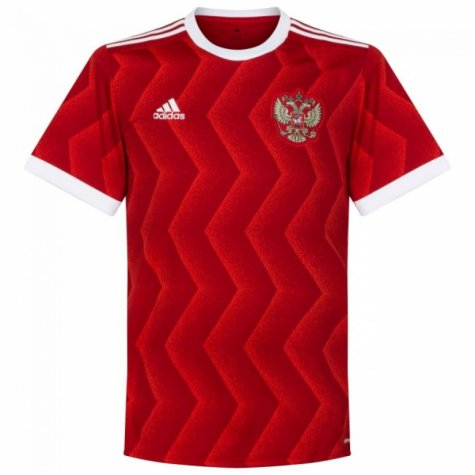 2017 Russia Adidas Home Football Shirt - Kids