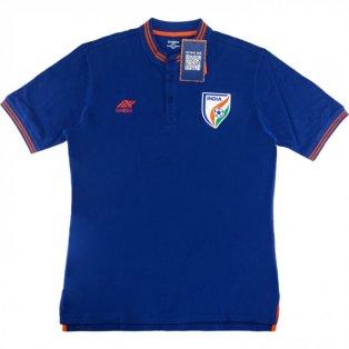 2019-2020 Inida Sixsix Polo Shirt (Blue)