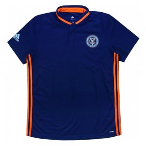 2015-16 New York City Adidas Team Polo (Navy)