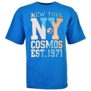 New York Cosmos - NASL Short Sleeved Shirt (Saxe blue)