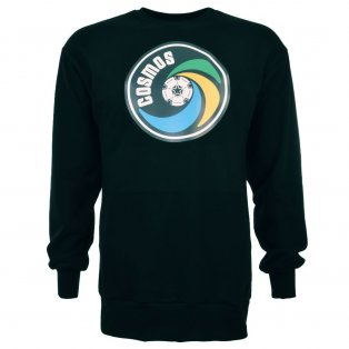 New York Cosmos - NASL Black Long Sleeved Retro Shirt