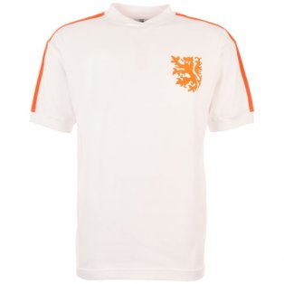 Holland 1970s No 14 Away Retro Football Shirt