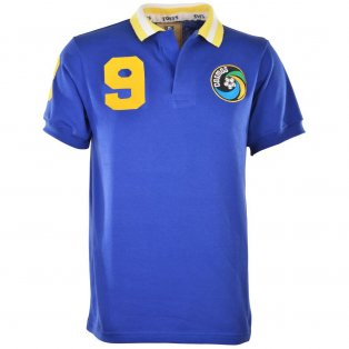 New York Cosmos 1980 Royal Shirt Chinaglia 9