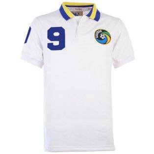 New York Cosmos 1980 White Shirt Chinaglia 9