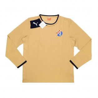 2013-14 Dinamo Zagreb Puma Away Long Sleeve Football Shirt