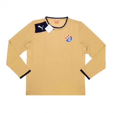 2013-14 Dinamo Zagreb Puma Away Long Sleeve Football Shirt
