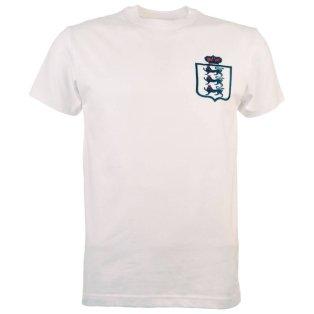 England Limited Edition Retro T-Shirt White