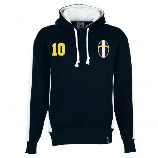 Juventus Number 10 Retro Hoodie