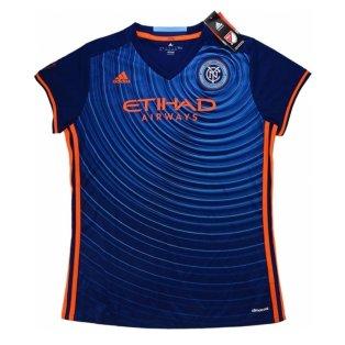 2017 New York City Adidas Away Women Football Shirt