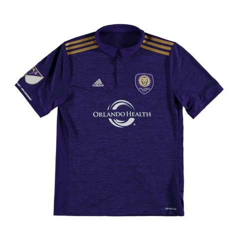 2018 Orlando City Adidas Home Football Shirt - Kids