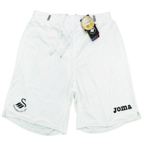 2016-17 Swansea Joma Home Football Shorts