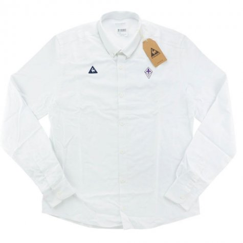2016-17 Fiorentina Le Coq Sportif Casual Shirt (White)
