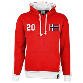 Norway Number 20 Retro Hoodie