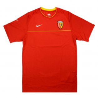 2008-2009 Lens Nike Training Shirt (Red)