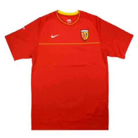 2008-2009 Lens Nike Training Shirt (Red)