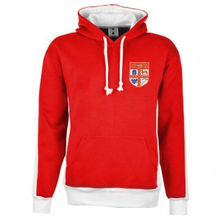 Stoke City Red/White Hoodie