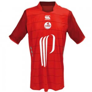2009-2010 Lille Home Shirt (Red)