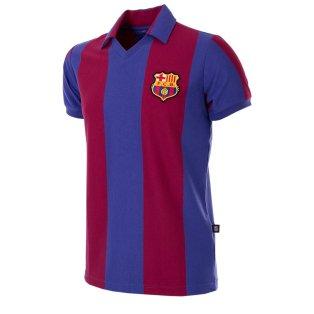 FC Barcelona 1980 - 81 Retro Football Shirt