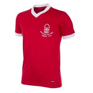 Nottingham Forest 1979 European Cup Final Retro Football Shirt