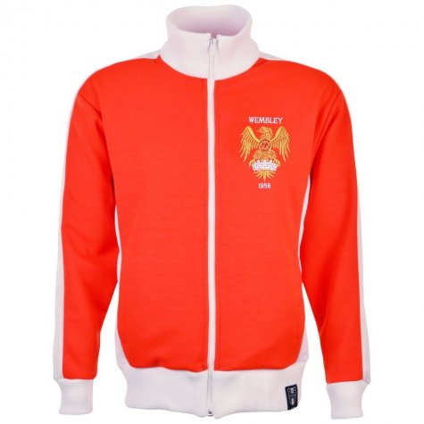 Manchester United 1958 style Retro Track Top