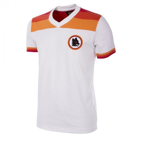 AS Roma 1978 - 79 Away Retro Football Shirt