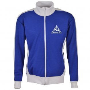 Hartlepool Track Top - Royal/White