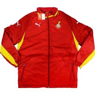 2012-13 Ghana Puma Padded Jacket (Red)