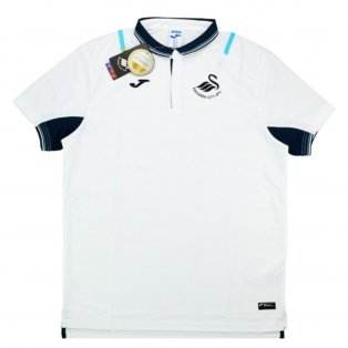 2016-17 Swansea Joma Travel Polo Shirt (White)