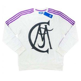 2016-17 Real Madrid Adidas Originals Crew Sweat