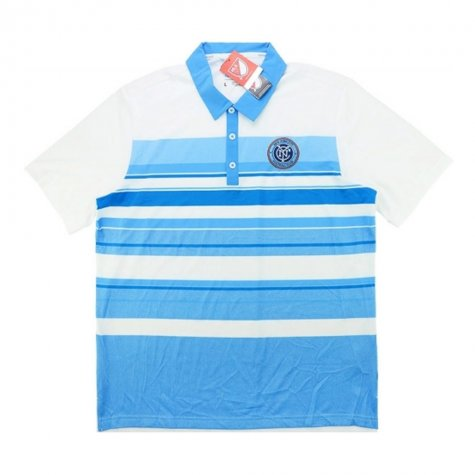 2015-16 New York City Adidas Travel Polo (White)