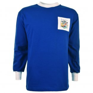Birmingham City 1960s Kids Retro Football Shirt