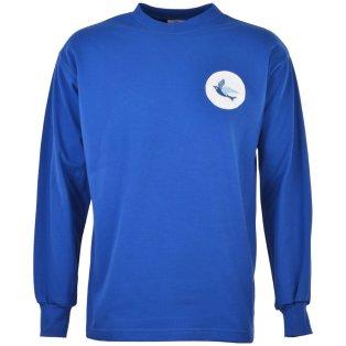 Cardiff City 1960s Kids Retro Football Shirt