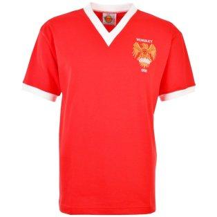 Manchester United 1958 FACF Kids Retro Football Shirt