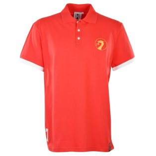 Liverpool No 7 Red Polo Shirt