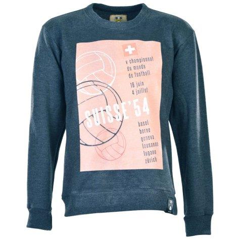 Pennarello: World Cup Switzerland 1954 Sweatshirt - Charcoal